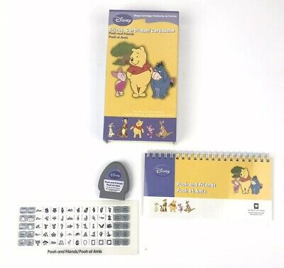 CRICUT CARTRIDGE DISNEY Pooh and Friends Font EUC - $35 96