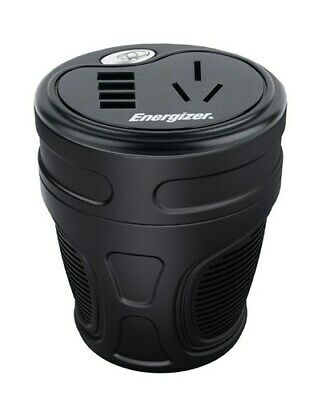 ENERGIZER 150W Cup Power Inverter with 4 x USB