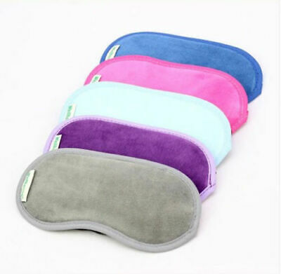Travel Soft Sleep Mask Eye Cover Rest Patch Blindfold Shield