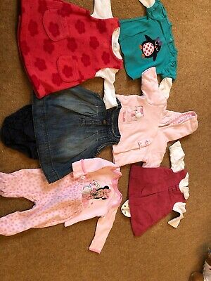 Girls Baby Clothes Bundle First Size Newborn  , Very Good Condition