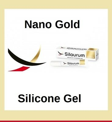 New LUXURY Silicone Nano Gold Gel C-section  Surgery  Acne Scars Removal UK