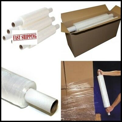 New Stretch Cling Film Extended core & Standard 400mm Pallet Shrink Wrap Clear