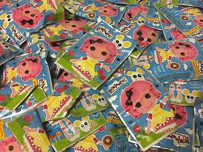 job lot wholesale 25  lalaloopsy ERASERS in packets ideal for Party fillers