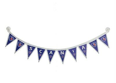 SCANIA Truck Decorating Strip Flags Banner Double Face With Cups