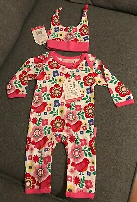 Toby Tiger Sleepsuit and Hat Aged 3 -6 months BNWT
