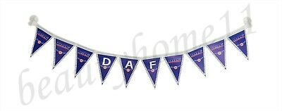DAF Truck Decorating Strip Flags Banner Double Face With Cups