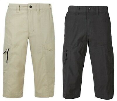 Ex M&S Mens Chino Shorts Cargo Combat Trekking Cotton 3/4 RRP £35 Marks Spencer