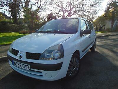 Superb Renault Clio 1.4 16v Automatic Expression Low Mileage Service History