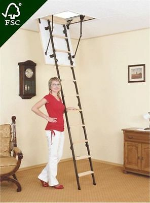 Attic Steps 70x120 120x70 Mini Space-Saver Stairs Attic Stairs Innentreppe