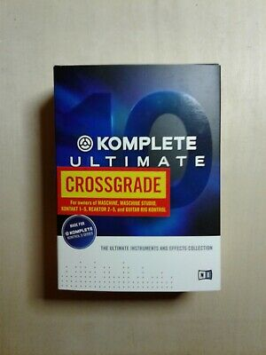 Native Instruments Komplete 10 Ultimate Crossgrade Instruments Samples