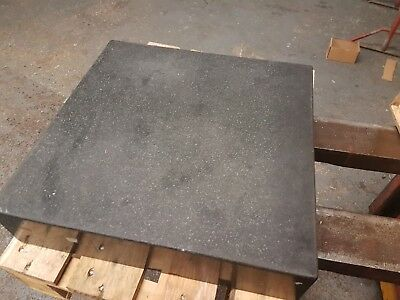 Granite surface plate 450mm x 450mm grade 0 inspection grade