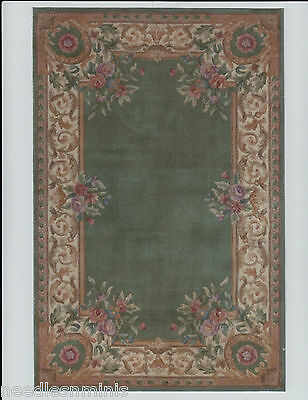 """1:12 Scale Dollhouse Area Rug 0000771 - approximately  7"""" x 10 1/2"""""""