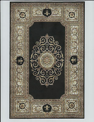 """1:12 Scale Dollhouse Area Rug 0001139 - approximately 6 7/8"""" x 10 1/2"""""""