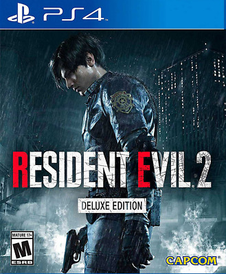 Resident Evil 2 Remake Deluxe Edition | PS4 | No CD
