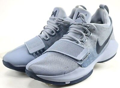 c205e76bf80740 NIKE PAUL GEORGE PG1 Men s Basketball Shoes Pure Platinum  Wolf Grey ...