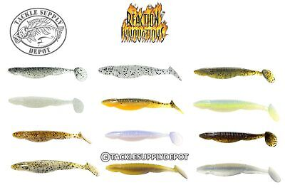 """POWER TEAM LURES Texas Rig Jig Soft Craw Creature Pitch Bait CHOOSE 3.5/"""" 6ct"""