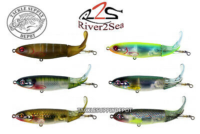 River2Sea Whopper Plopper Topwater Prop Bait 130 Silent 5in 1 3/8oz - Pick