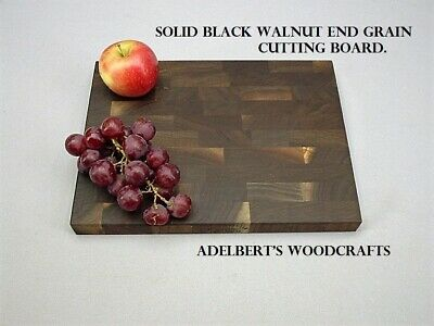 Black Walnut End Grain Cutting Boards For Sale.Shipped by priority mail