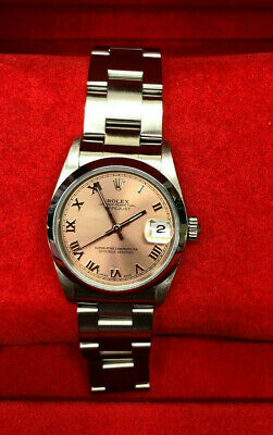 Rolex DateJust Lady 78240 Stainless Steel Pink Dial - Full Box & Papers 2004