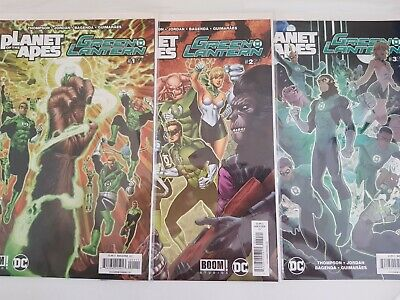 Planet of the Apes Green Lantern Complete Mini Series Issues 1,2,3,4,5,6