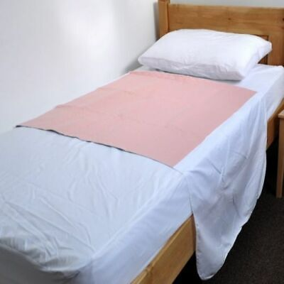 2 x Incontinence Washable Bed Pads With Tucks  85 x 90cm - Reusable (Twin pack)