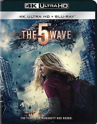 The 5th Wave (4K UHD Blu-Ray, Blu-Ray, Digital) NO Slipcover - BRAND NEW!