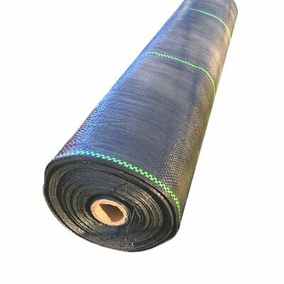 1m,2m,3m 4m,5m heavy duty woven weed control fabric ground cover garden mulch