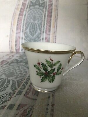 Lenox Holiday Coffee/Tea Cup - Multiple Available