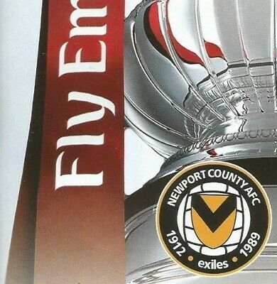 NEWPORT COUNTY AFC v MAN MANCHESTER CITY  2018/19    FA CUP  5th Round