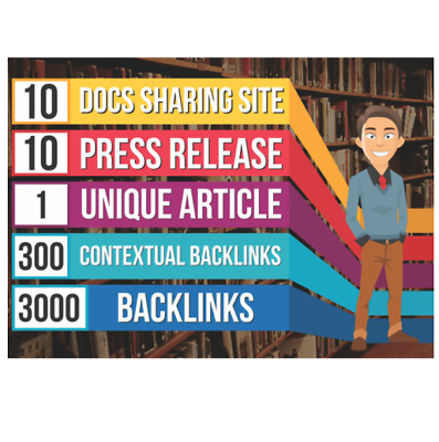 Seo Pyramid 10 Press Release, 10 PDF Sites,300 High Pa Da, 3000 Backlinks