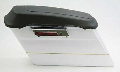 Mustang Saddlebag Lid Covers 77604 for Harley Touring Road King Electra Glide