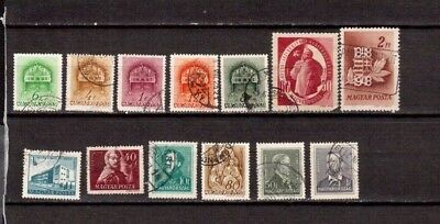 OLD STAMPS Hungary USED