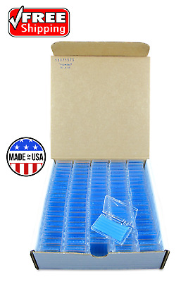 100 Pack Orthodontic WAX For BRACES Irritation  BLUE MINT SCENTED Dental Relief