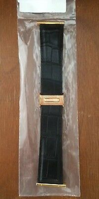 a3b487fa428 New Authentique Boucheron alligator Véritable Bracelet Montre Reflet Taille  XL