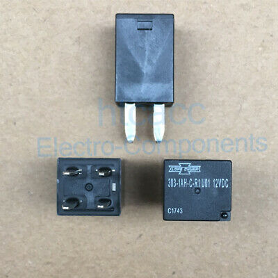303-1AH-C-R1 U01 12VDC Song Chuan ATV mini General Purpose Relay 30A 4Pins 10PCS