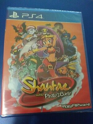 Limited Run Games #25 Shantae And The Pirates Curse PS4 Brand