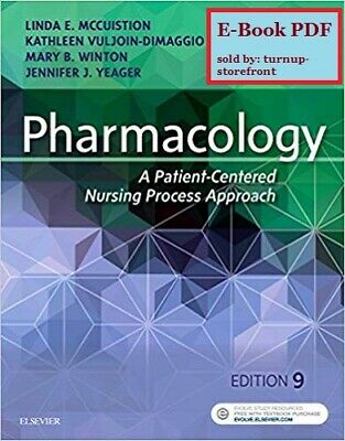   E-Book PDF   Pharmacology : A Patient-Centered Nursing Process Approach 9th Ed