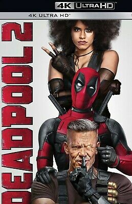 Deadpool 2 - Marvel (4K Ultra HD, DISK ONLY, Unrated Cut) Ryan Reynolds