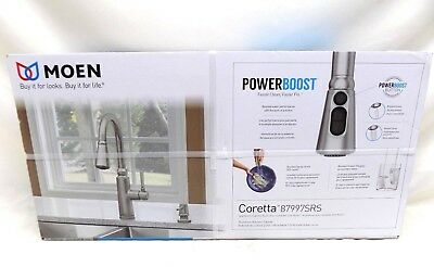 Moen Coretta  Pull-Down Sprayer Kitchen Faucet 87997SRS