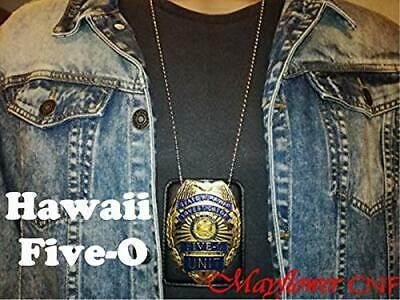 State of Hawaii Five-O Unit Investigator Badge Replica - Jack Lord, Movie /TV