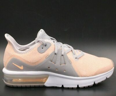 new arrival 10778 6a54c NIKE Air Max Sequent 3 (GS) Youth Girls Running Shoes Sz 5Y Grey Pink