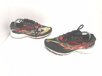 BROOKS LAUNCH 4 TOKYO 2017 Womens SIZE 8 M Black KOI Lace Up Running Shoes 740bf4ac8e0