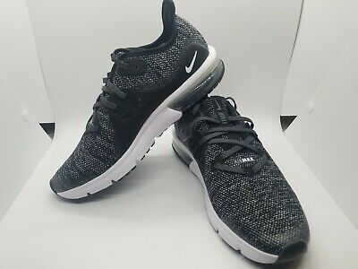 quality design dc91c 7c503 Nike Air Max Sequent 3 Running Boy s Mesh Black(922884-001) Size 7Y