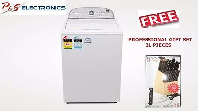 Brand New WHIRLPOOL 8kg Top Load Washing Machine- COMMERCIAL GRADE- 6AWTW5700XW