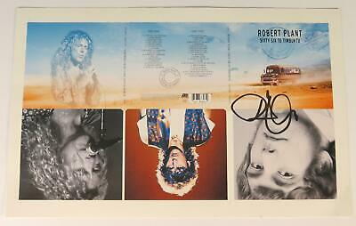 """Robert Plant LED ZEPPELIN Signed Autograph """"Sixty Six To.."""" 10x18 Proof Poster"""