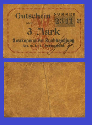 Germany south west africa 10 PFENNING mark 1916 UNC Reproduction