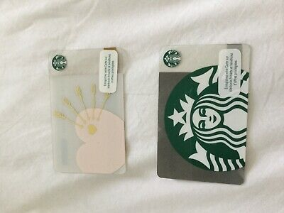Carte cadeau Starbucks St Valentin France New Neuve. Valentine Gift Card