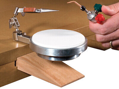 Heetrix G-Clamp Soldering Platform with Tweezers and Third Hand base OR SPARE