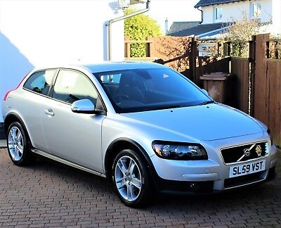 Volvo C30 1.6 Se Model, 5 Speed Manual, Silver Metallic, Winter Pack, Immaculate