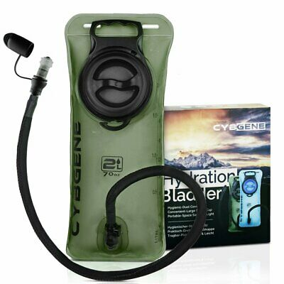 Cybgene Hydration Bladder 2l Water Reservoir With Large Opening Leak Proof Ca
